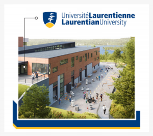 Image of the iconic building at Laurentian University