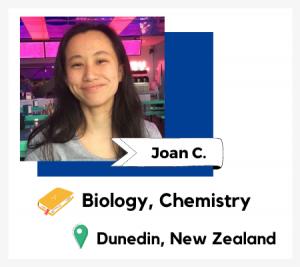 Profile image of tutor Joan C on TutorOcean