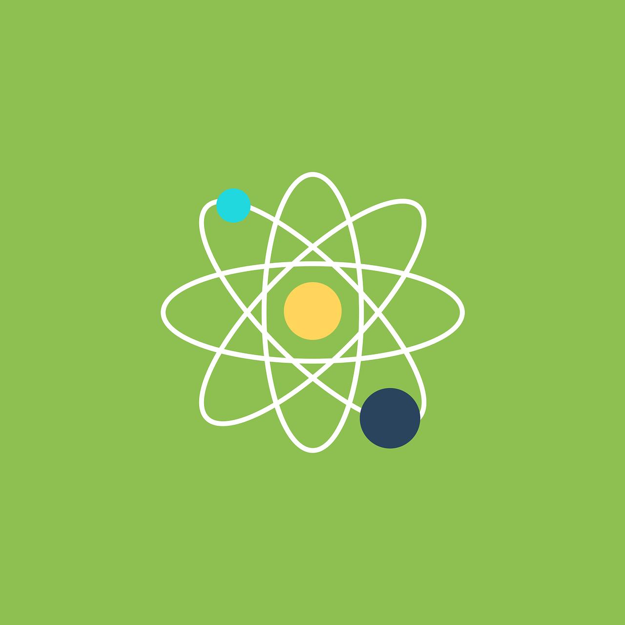 Atom Molecule Blog Header