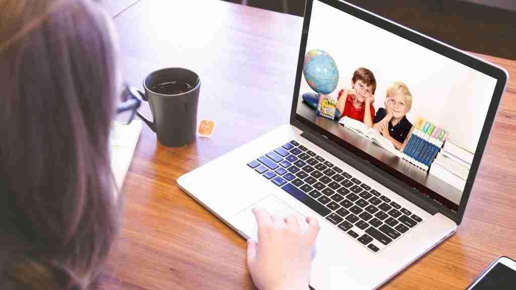 Kids learning online header